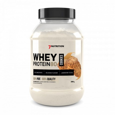 7Nutrition Whey Protein 80 2000g Cookies