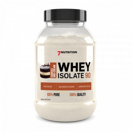 7Nutrition WHEY ISOLATE 90 Cookies