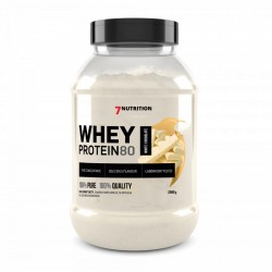 7Nutrition Whey Protein 80 2000g White Chocolate