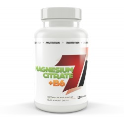 7Nutrition MAGNESIUM CITRATE + B6 120 kaps